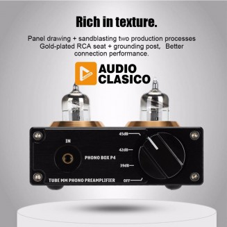 Pre-amplificador para phono...